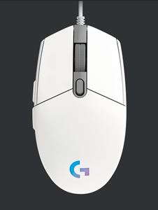G203 LIGHTSYNC Gaming Mouse G203-WH