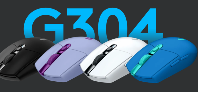 Logicool G304 LIGHTSPEED Wireless Gaming Mouse