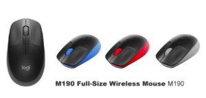 ロジクール フルサイズ ワイヤレス マウス M190